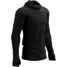Compressport 3D Thermo Seamless Zip Hoodie Black Edition 2021 black
